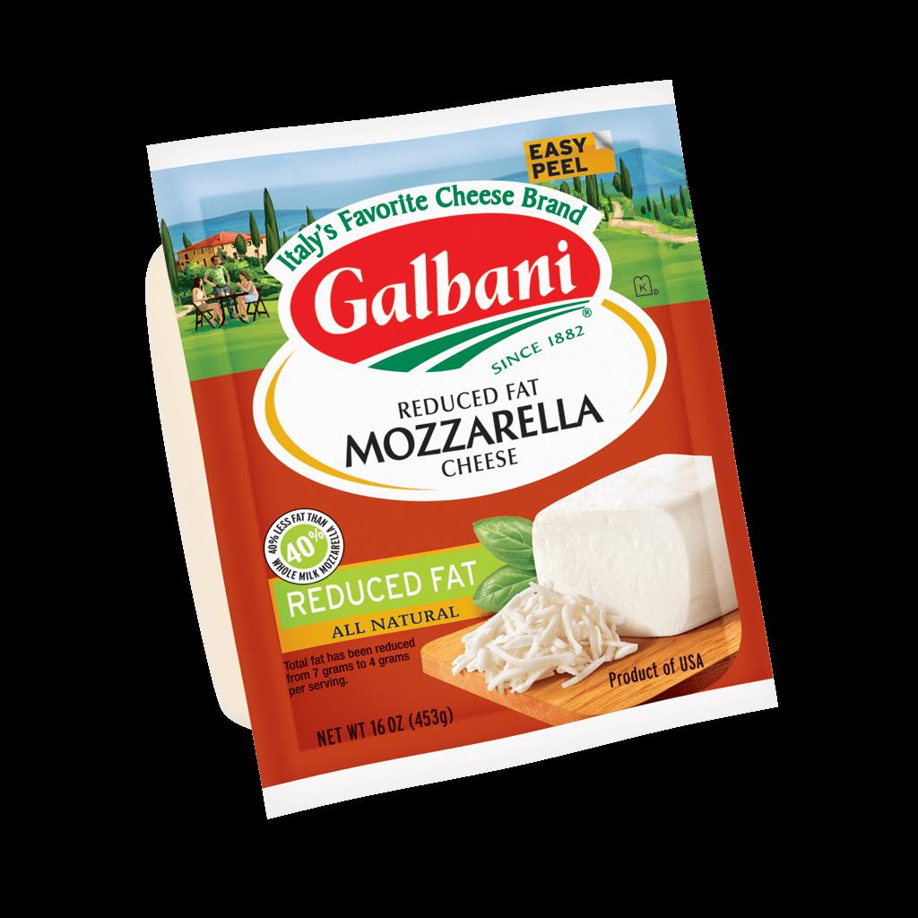 Reduced Fat Mozzarella - Galbani Cheese