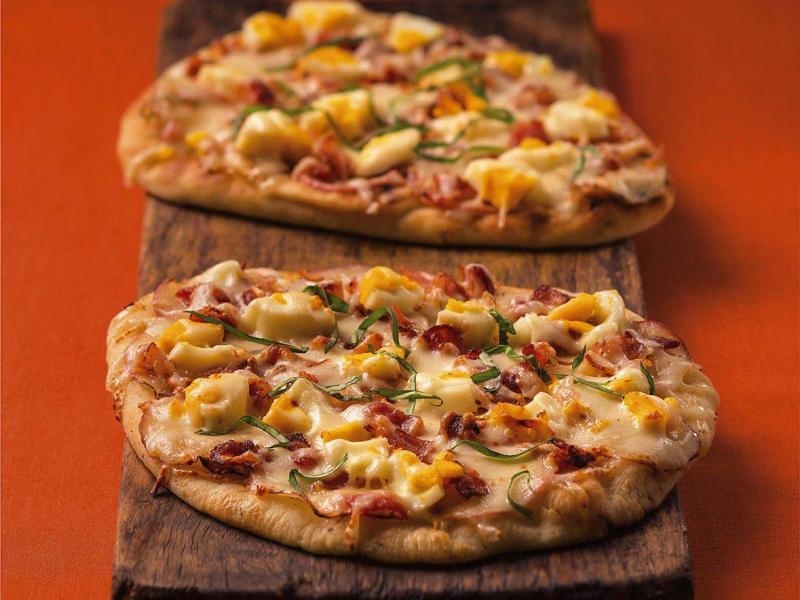 Colazione Breakfast Pizza - Galbani Cheese
