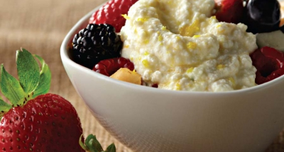 Fresh Fruit with Ricotta, Fresh Mint, and Honey - Galbani Cheese