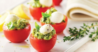 Lemon – Herb and Avocado Caprese Cups - Galbani Cheese