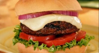 Fresh Mozzarella Burger - Galbani Cheese