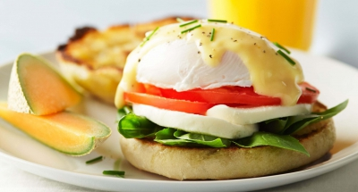 Eggs Benedict - Galbani Cheese