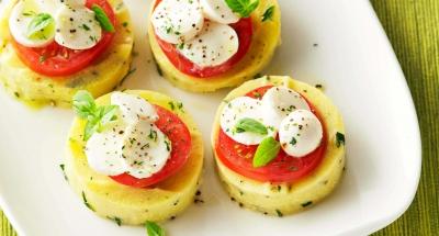Caprese Polenta - Galbani Cheese