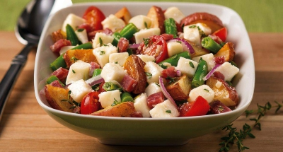 Fresh Mozzarella Roasted Potato Salad - Galbani Cheese
