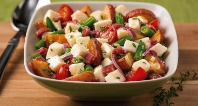 Fresh Mozzarella Roasted Potato Salad - Galbani Cheese