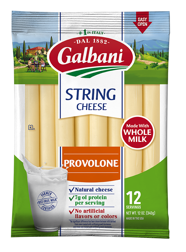 Provolone String Cheese - Galbani Cheese