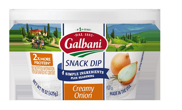 Creamy Onion Snack Dip
