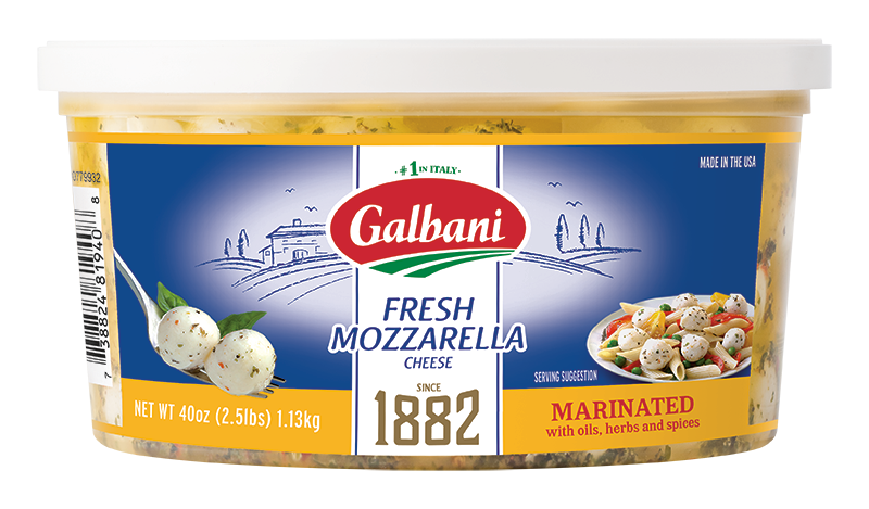 Fresh Mozzarella Marinated - Galbani Cheese
