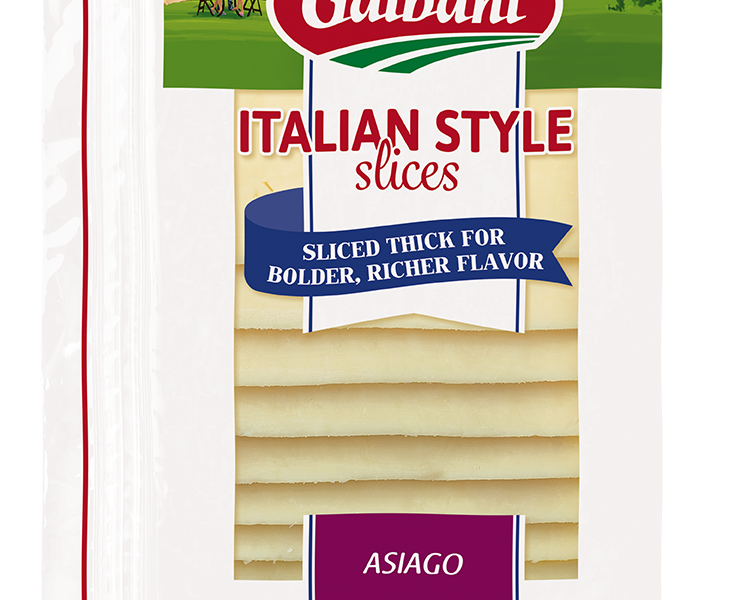Thick Sliced Asiago - Galbani Cheese