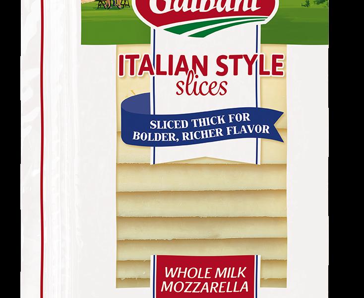 Thick Sliced Mozzarella - Galbani Cheese