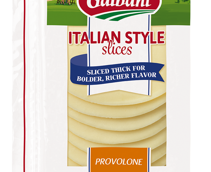Thick Sliced Provolone - Galbani Cheese
