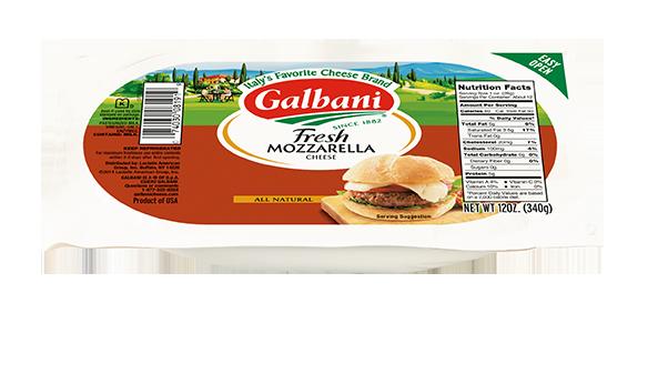 Fresh Mozzarella Log - Galbani Cheese