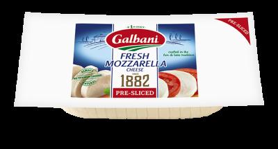 Fresh Mozzarella Pre-Sliced Log - Galbani Cheese