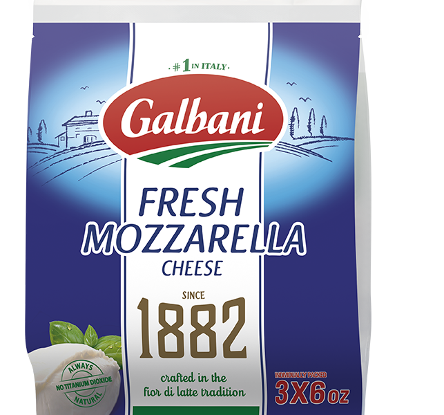 Fresh Mozzarella Pouch Multi-Pack - Galbani Cheese