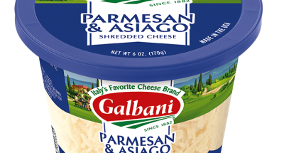 Shredded Asiago & Parmesan cheese - Galbani Cheese