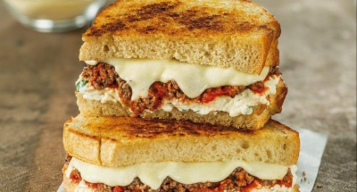 Lasagna Grilled Cheese - Galbani Cheese