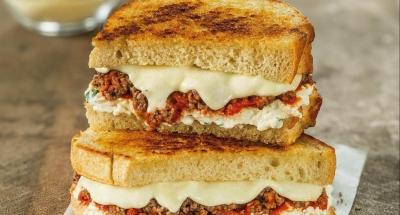 Lasagna Grilled Cheese - Galbani Cheese