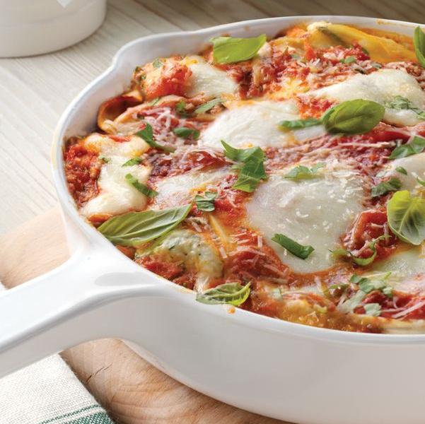 Easy Skillet Lasagna - Galbani Cheese