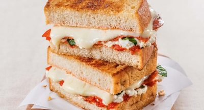 Margherita Pepperoni Grilled Cheese - Galbani Cheese
