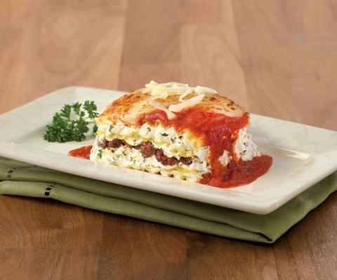 Meat & Cheese Lasagna - Galbani Cheese