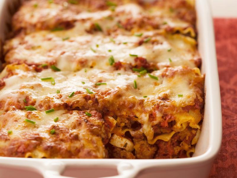 Meatball Lasagna (Neopolitan Style) - Galbani Cheese