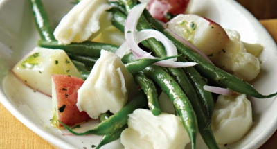 Mozzarella, Baby Potato, and Green Bean Salad - Galbani Cheese