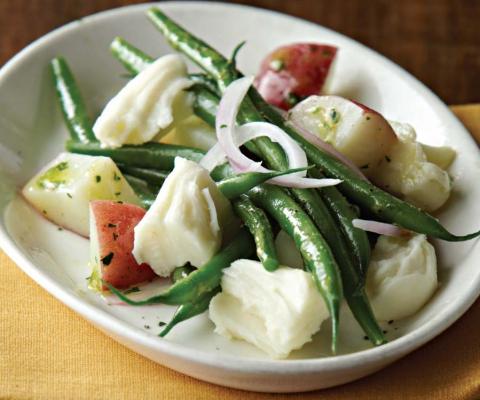 Mozzarella, Baby Potato, and Green Bean Salad - Galbani Cheese