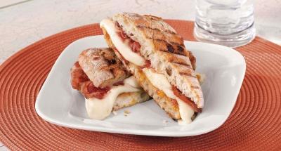 Pancetta Fresh Mozzarella Panini - Galbani Cheese
