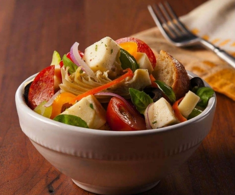Panzanella Salad - Galbani Cheese