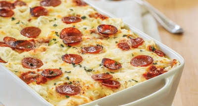 Pepperoni Pizza Lasagna - Galbani Cheese