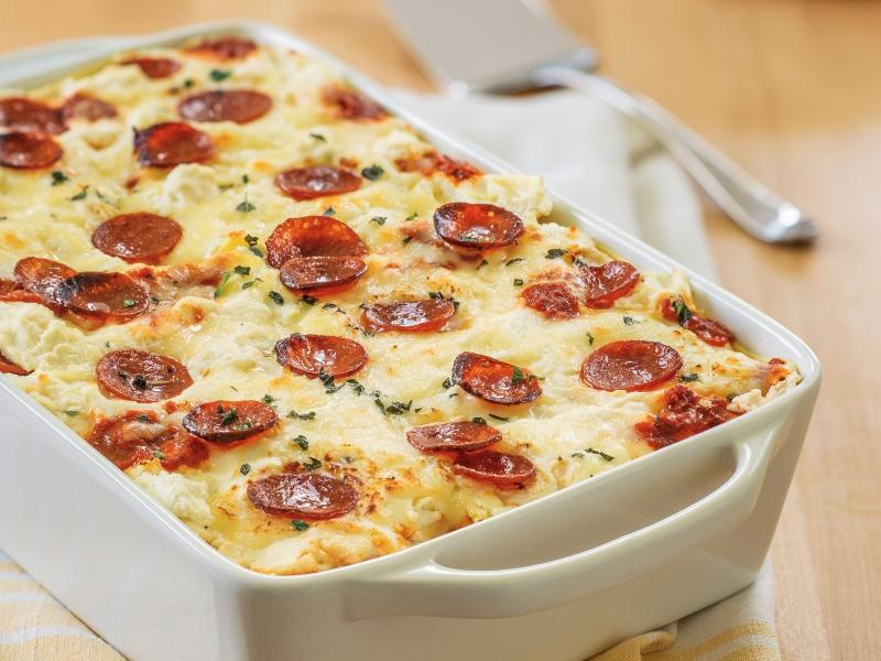 Pepperoni Pizza Lasagna - Galbani Cheese