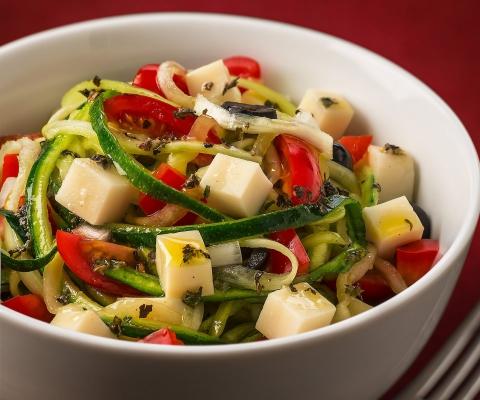 "Primal Summer ""Pasta"" Salad - Galbani Cheese"