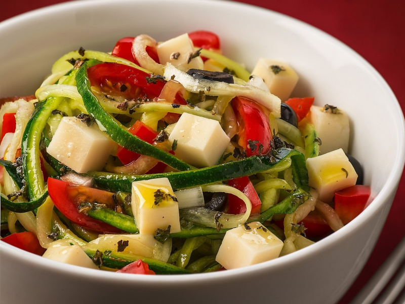 "Primal Summer ""Pasta"" Salad - Galbani Cheese"