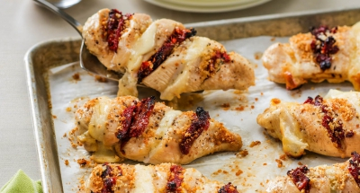 Cheesy Hasselback Chicken - Galbani Cheese