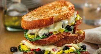 Antipasto Grilled Cheese - Galbani Cheese