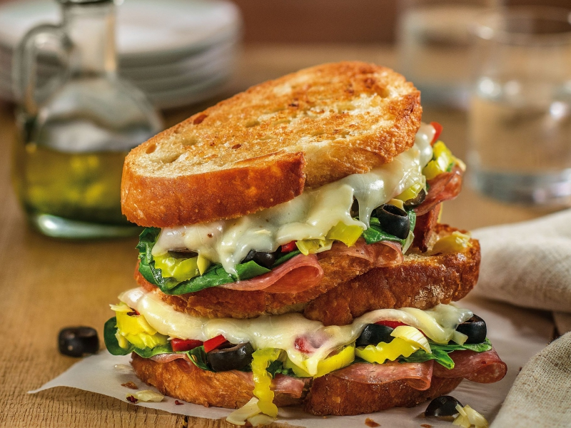 Antipasto Grilled Cheese - Galbani Cheese