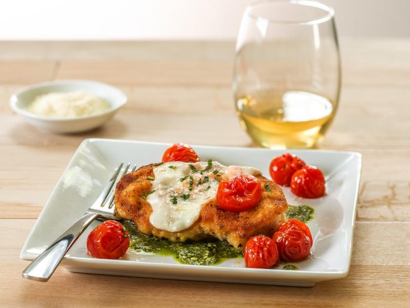 Chicken Caprese Parmesan - Galbani Cheese