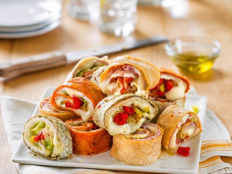 Galbani Cheese and Meat Roll-Ups - Galbani Cheese