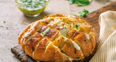 Cheesy Asiago Pull Apart Bread - Galbani Cheese