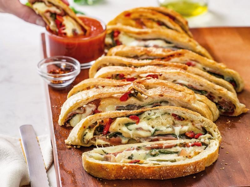 Italian Stromboli - Galbani Cheese