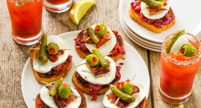 Bloody Mary Crostini - Galbani Cheese