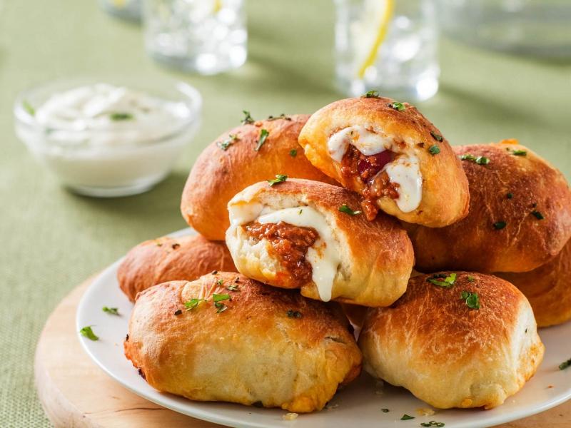 Chili Pizza Dough Balls - Galbani Cheese