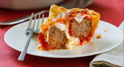Meatball Pie - Galbani Cheese
