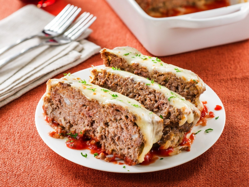 Italian Meatloaf - Galbani Cheese