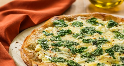 Spinach Ricotta Pizza - Galbani Cheese