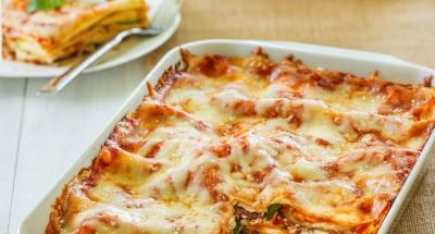 Veggie Ricotta Lasagna - Galbani Cheese