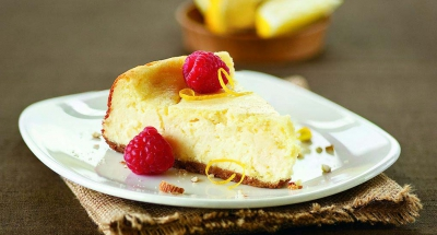 Amaretto Ricotta Cheesecake - Galbani Cheese