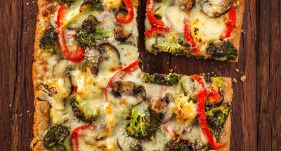Roasted Vegetable Whole Wheat Pizza - Galbani Cheese