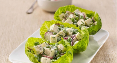 Summer Sweet Pea Salad - Galbani Cheese
