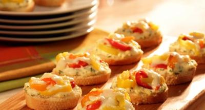 Unstuffed Hot Pepper Crostini - Galbani Cheese